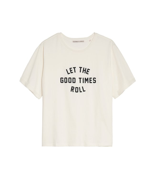 CATWALK JUNKIE -  Roll t-shirt