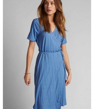 NUMPH NUMPH - Nucerise jurk wedgewood