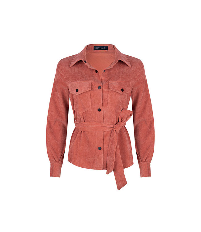 LOFTY MANNER - Alexa blouse peach