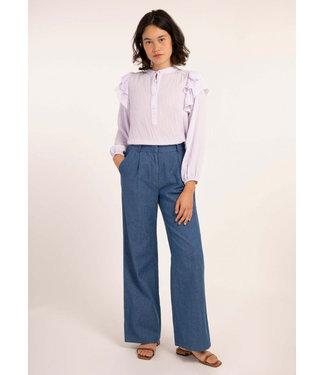 FRNCH FRNCH - Pantalon pivoine