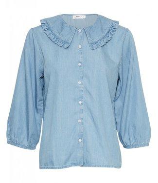 Moss Copenhagen MSCH - Flikka janina 3/4 blouse