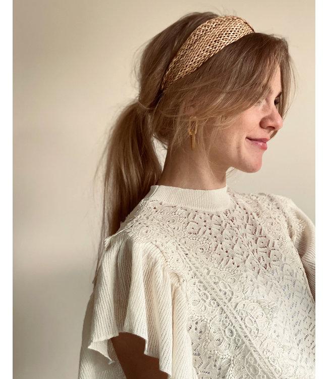 ICHI - Riet haarband