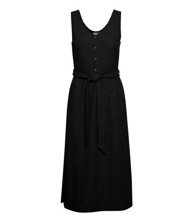 ICHI - Ihalabama jurk zwart