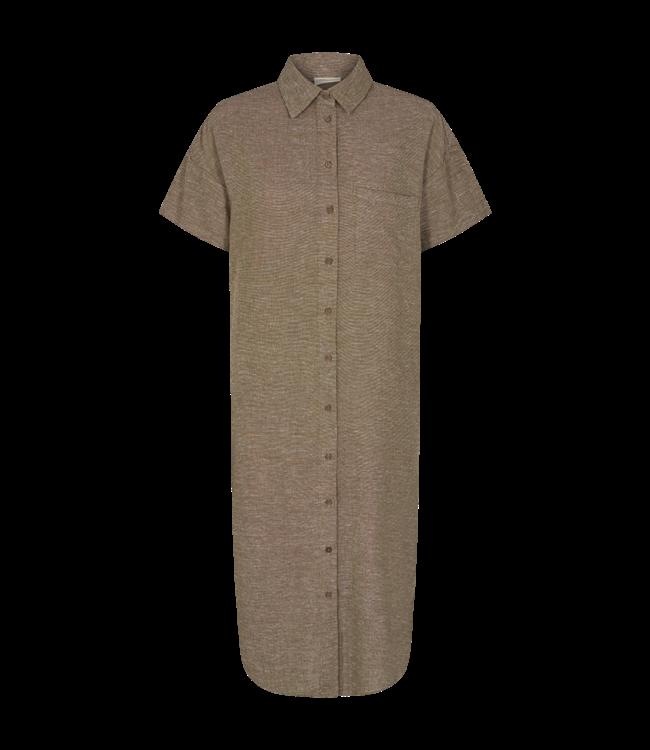 FREEQUENT - Fqlavara jurk caper melange