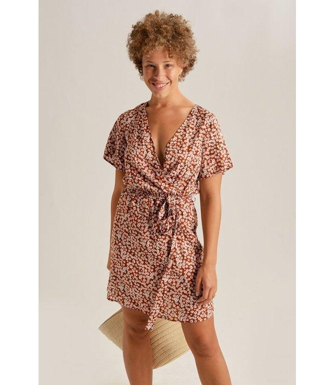 24COLOURS - Rost jurk 20814