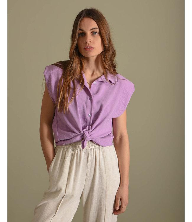 THINGS I LIKE THINGS I LOVE - Vera padded blouse lila