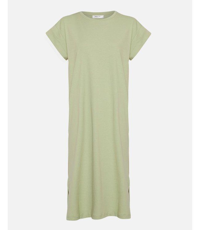MSCH - Elisse Alva SS dress reseda