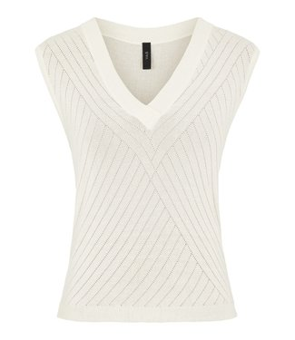 yas Y.A.S - Yaselso knit top creme