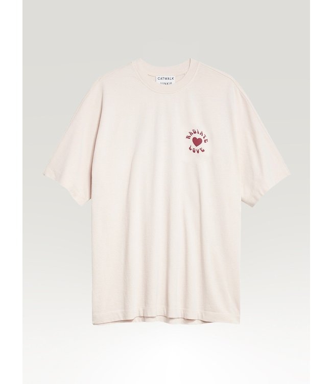 CATWALK JUNKIE - Radiate love t-shirt