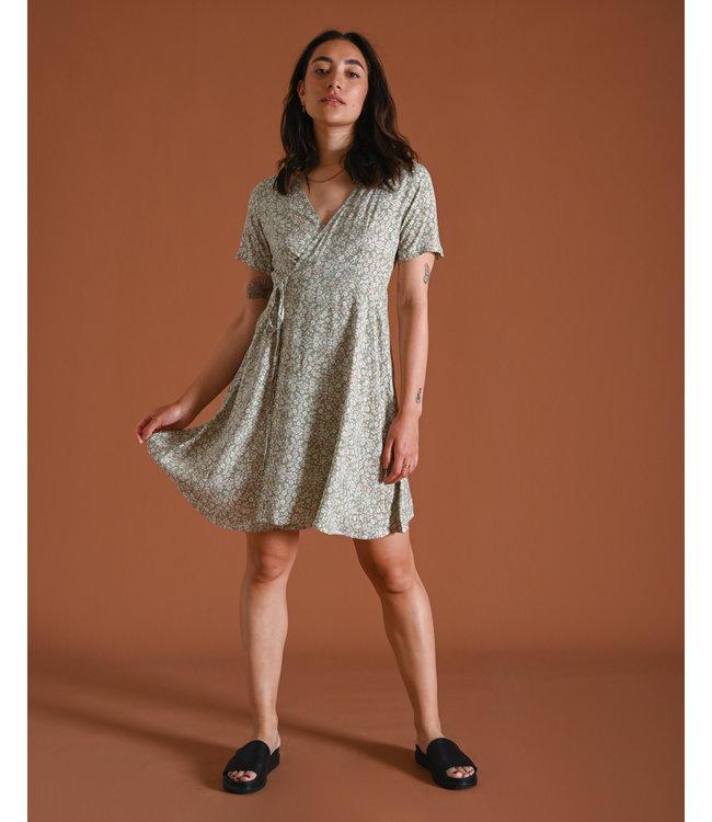 THINGS I LIKE THINGS I LOVE - Fabienne wrap jurk pastel flower