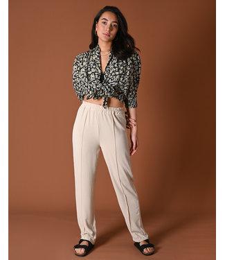 THINGS I LIKE THINGS I LOVE THINGS I LIKE THINGS I LOVE - Mima Pants creme