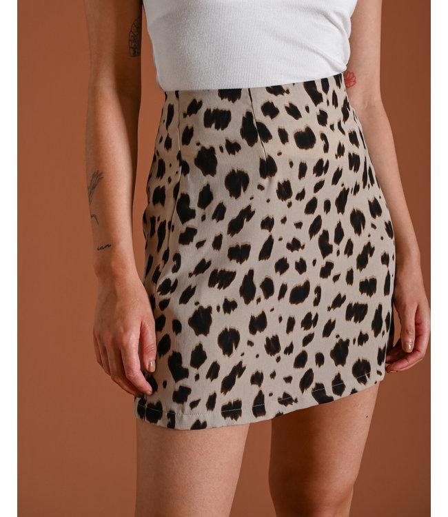 THINGS I LIKE THINGS I LOVE - Sabine cow print Skirt