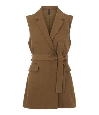 Y.A.S Y.A.S - Yascarla belt waistcoat