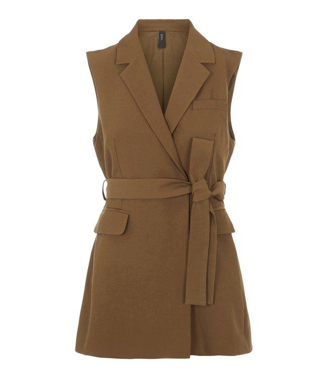 Y.A.S - Yascarla belt waistcoat