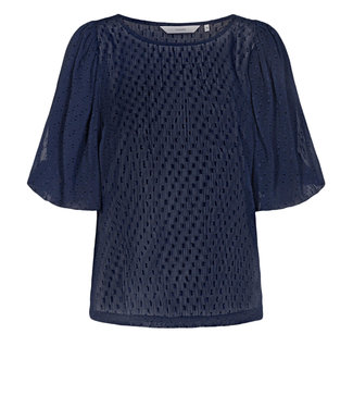 NUMPH NUMPH - Nucatulsa blauw blouse