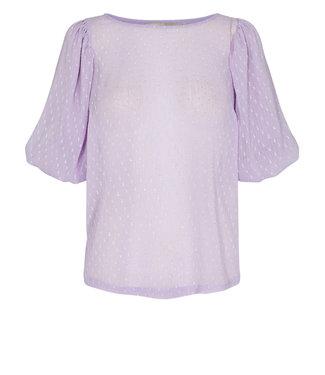 NUMPH NUMPH - Nucatulsa lila blouse