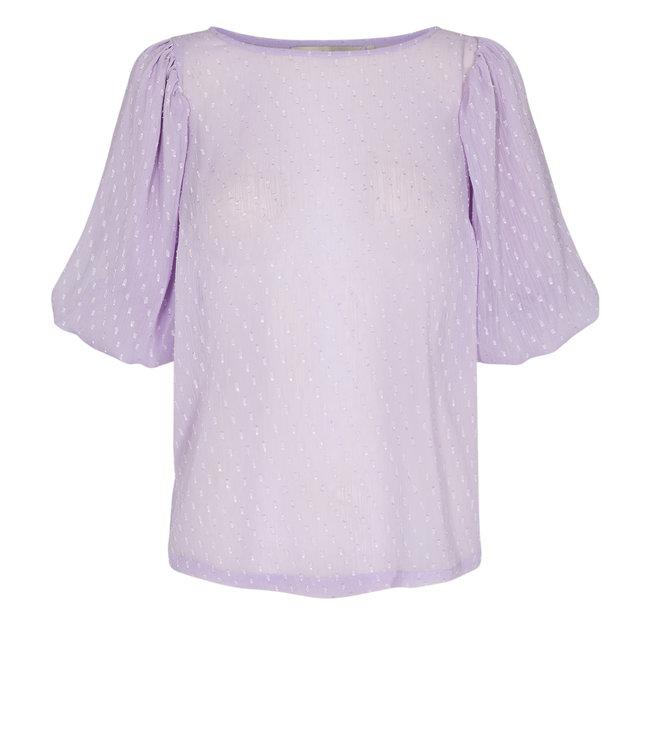 NUMPH - Nucatulsa lila blouse