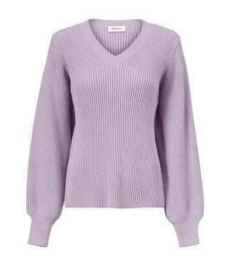 Modström MODSTROM - Luca v-neck soft lavender