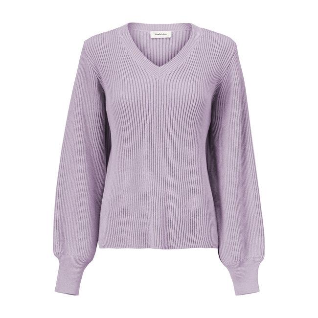 MODSTROM - Luca v-neck soft lavender