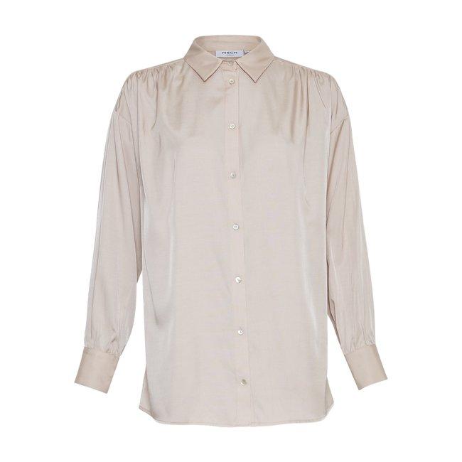 MSCH - Meise ls blouse ecru