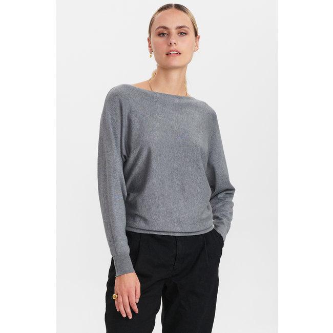 NUMPH - Nudaya pullover grijs