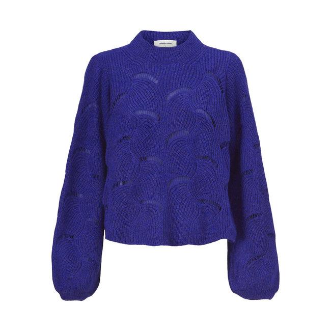 MODSTROM - Matthew o-neck clematis blue