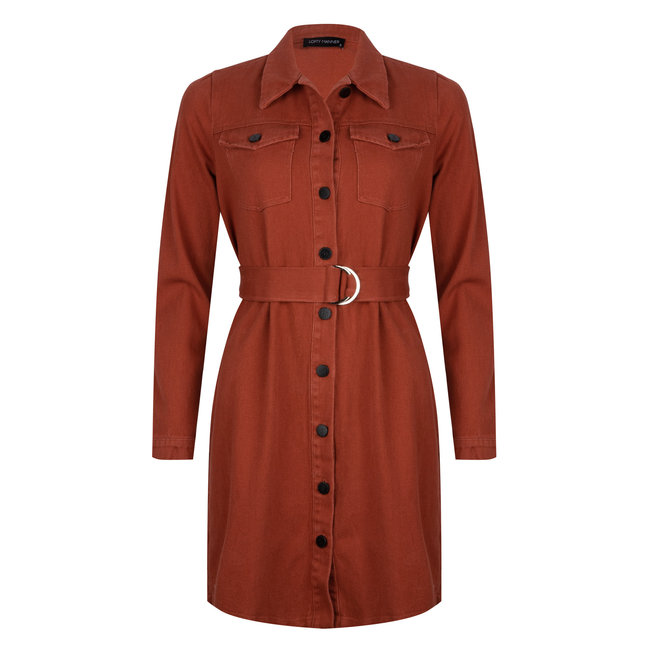 LOFTY MANNER - Jessie jurk oranje