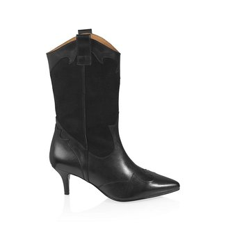 Dwars DWRS - Palma boots zwart
