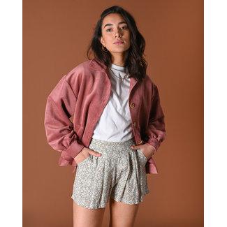 THINGS I LIKE THINGS I LOVE THINGS I LIKE THINGS I LOVE - Bobby corduroy jacket pink