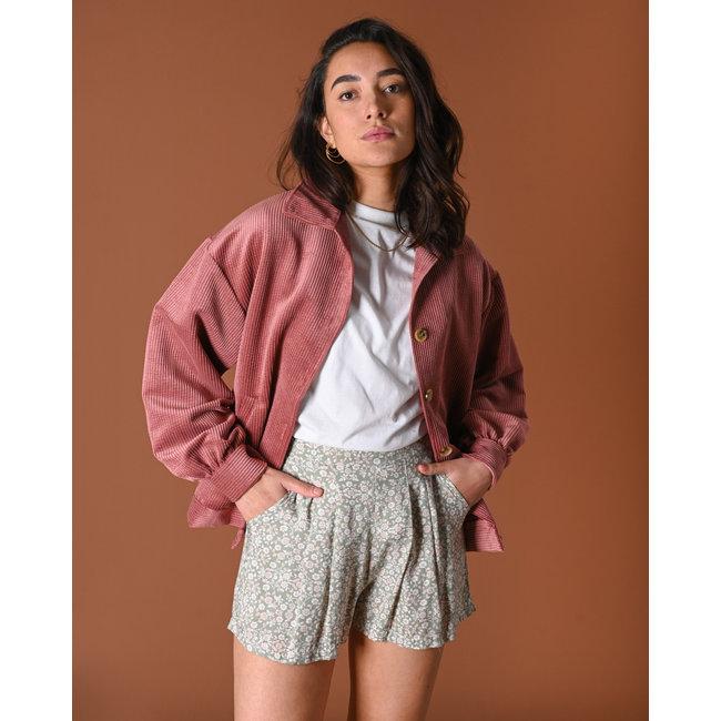 THINGS I LIKE THINGS I LOVE - Bobby corduroy jacket pink