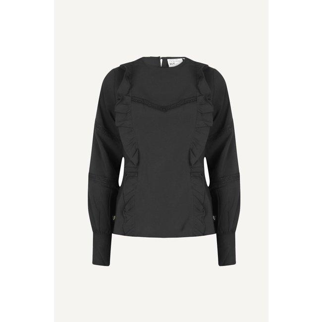 D.L.Y. - Jaydi blouse zwart