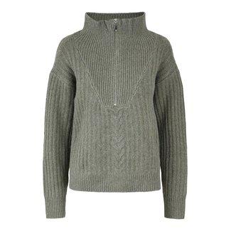 Y.A.S Y.A.S - Yasziko zip pullover