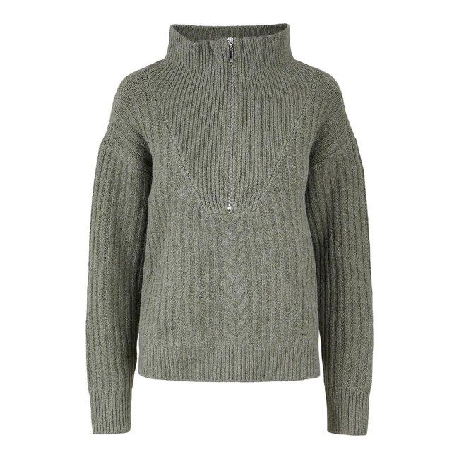 Y.A.S - Yasziko zip pullover