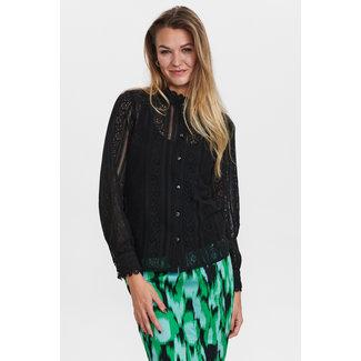NUMPH NUMPH - Nucorel blouse zwart