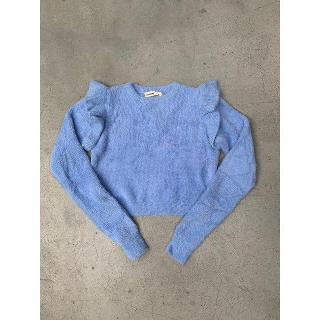 24 COLOURS - Trui blauw 40845b