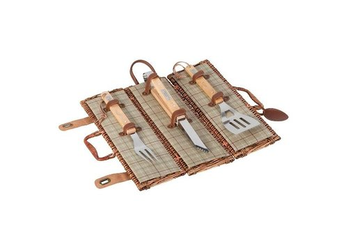 Laura Ashley 3 Delige barbecue set