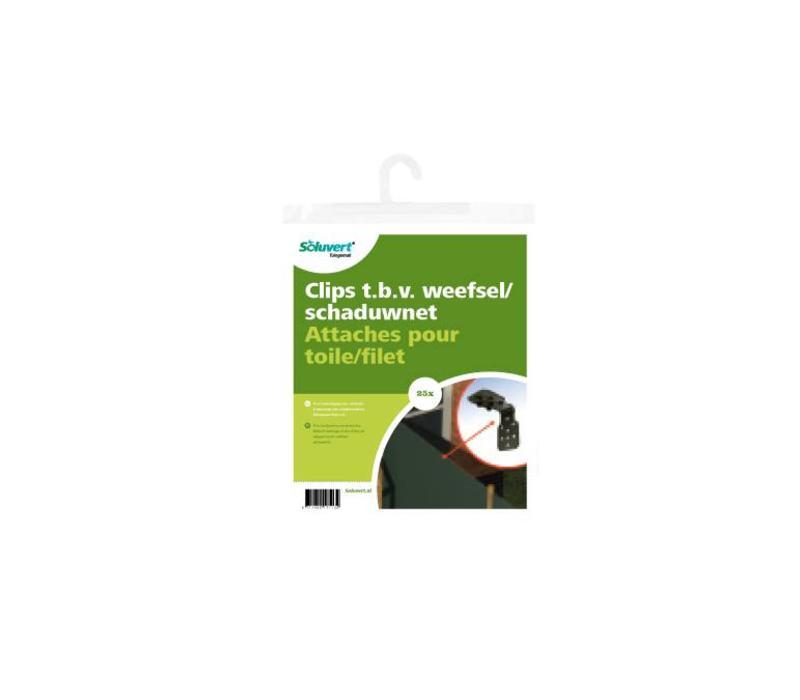 Clips V Weefsel/schaduwnet P/25