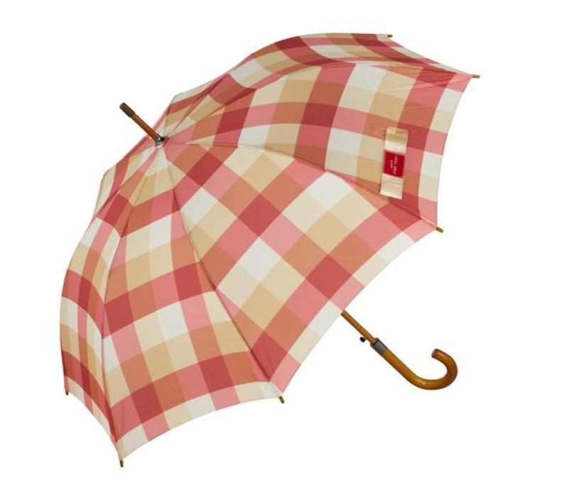 Paraplu Mitford check brick