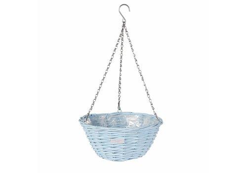 Laura Ashley Wicker basket Blue