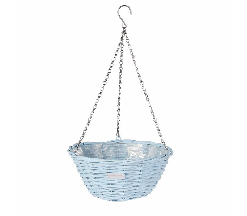 Wicker basket Blue