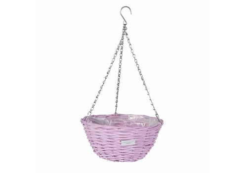 Laura Ashley Wicker basket Lavender