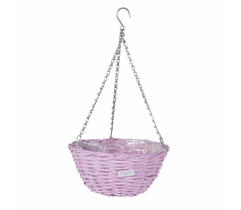 Wicker basket Lavender