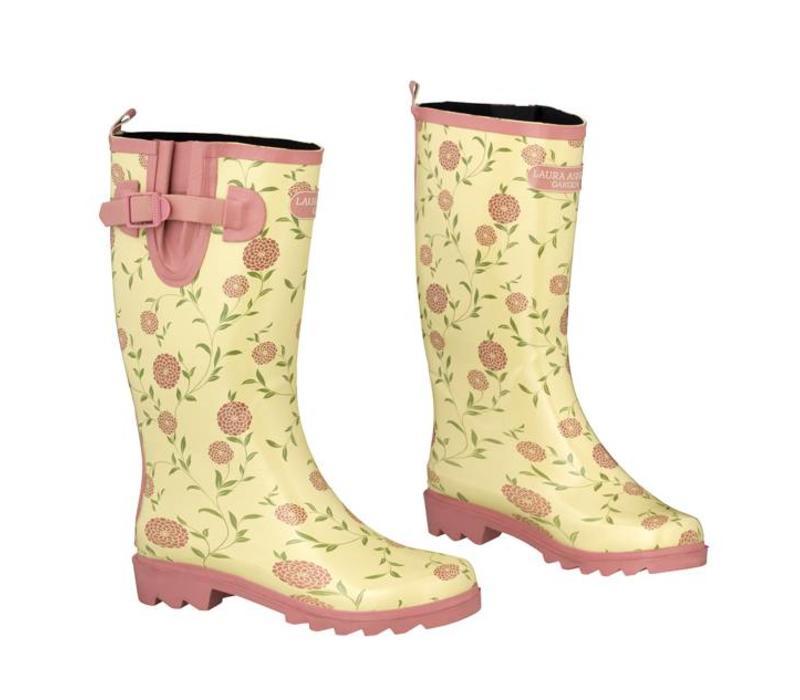 Tuinlaarzen: Elegance Wellingtons Erin chalk pink