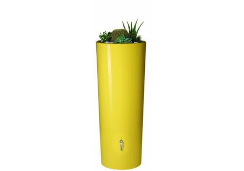 Soluvert Regenton design bloembak 2 in 1 Lemon