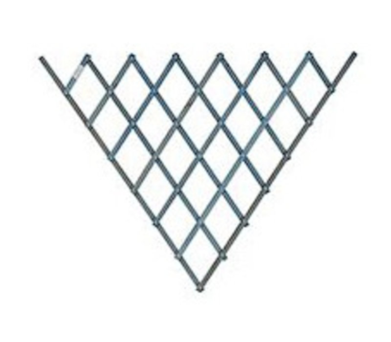 Fan Trellis Blue 0.7 x 1.4 m