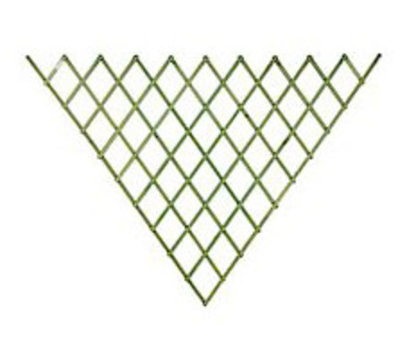 Fan Trellis Sage green 0.94 x 1.8 m