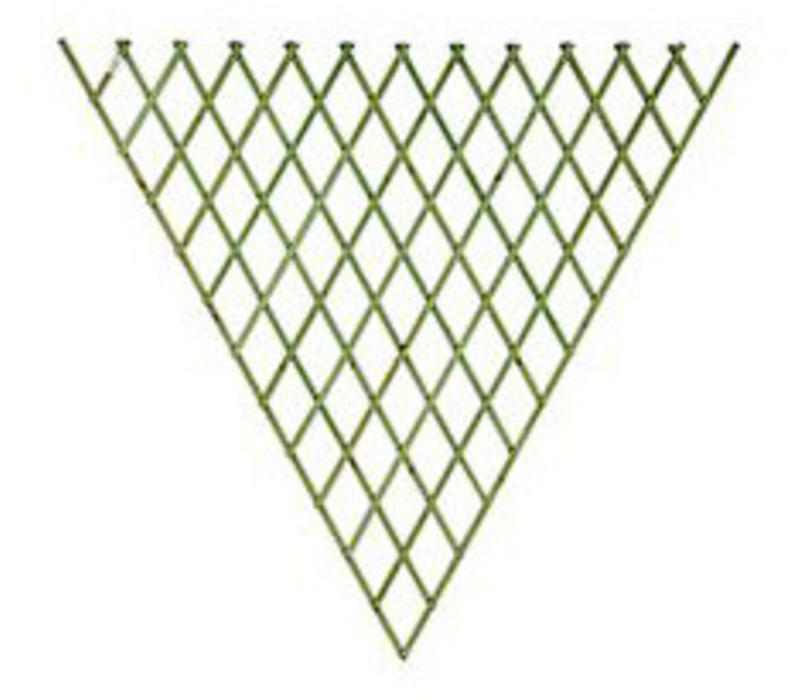Fan Trellis Sage green 1.2 x 2.4 m