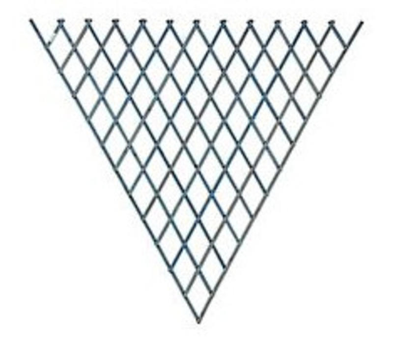 Fan Trellis Blue 1.2 x 2.4 m