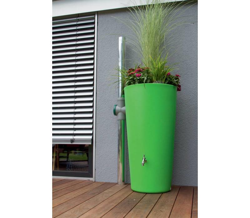 Regenton design bloembak 2 in 1 kiwi