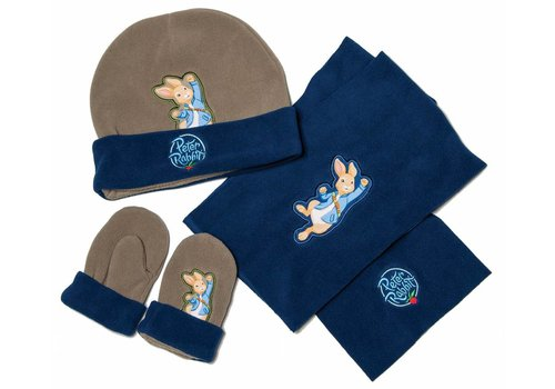 Peter Rabbit Outdoor Sjaal, muts en wanten Peter Rabbit
